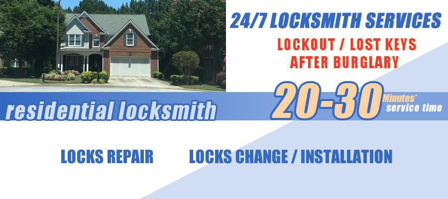 Residential locksmith Cumming
